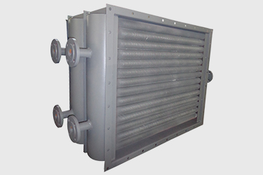 Air heat exchanger in chemical industry