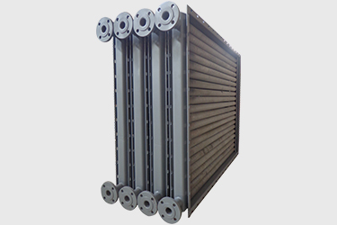 Welded air heat exchanger